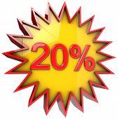 Star Discount Of Twenty Percent
