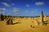 Pinnacles Desert in Australien
