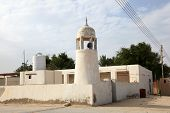 Mosque In Village Zekreet In Qatar