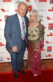 Buzz Aldrin and Lois Aldrin at Rock The Kasbah presented by Virgin Unite. Roosevelt Hotel, Hollywood