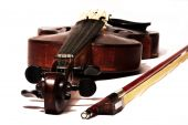 Old Violin And Bow