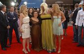 Michelle Pfeiffer and Nikki Blonsky with Queen Latifah and Amanda Bynes at the Los Angeles premiere of