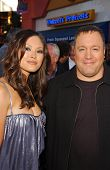 Steffiana De La Cruz and Kevin James at the World Premiere of
