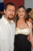 Adam Sandler and Jackie Sandler at the World Premiere of