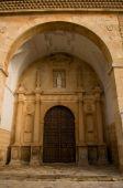San Antonio Abad Church In El Toboso. Spain. Plateresque Church. Cited In Quijote