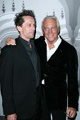 Brian Grazer and Giorgio Armani at the Giorgio Armani Prive Show to celebrate the Oscars. Green Acre
