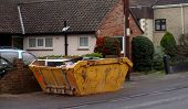 Roadside Dumpster