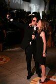 Davis Guggenheim and Elisabeth Shue at the 2007 Vanity Fair Oscar Party. Mortons, West Hollywood, CA. 02-25-07