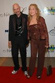 Bob Kulick and Stella Stevens at the 17th Annual Night of 100 Stars Gala. Beverly Hills Hotel, Bever