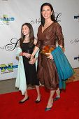 Mimi Rogers and her daughter at the 17th Annual Night of 100 Stars Gala. Beverly Hills Hotel, Beverl