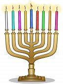 Hanukkah Lamp Hanukkiah