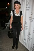 Kelly Carlson at day one of the 2007 Mercedes-Benz Fashion Week Fall Collection. Smashbox Studios, C