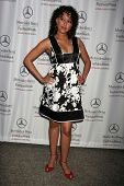 Tamera Mowry at day one of the 2007 Mercedes-Benz Fashion Week Fall Collection. Smashbox Studios, Culver City, CA. 03-18-07