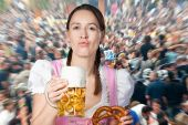 Partying At Oktoberfest