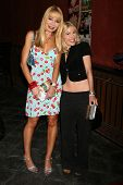 Lorielle New and Riley Weston at the DVD Release Party for