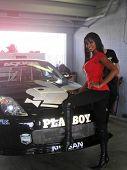 Qiana Chase at the Inaugural XM Satellite Radio Speedjam, Homestead-Miami Speedway, Homestead, Fla. 03-24-07