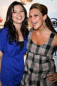 Erica Munoz and Luchana Gatica at the DVD Release Party for