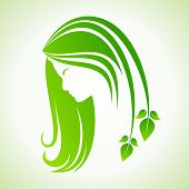 Eco icon with women face