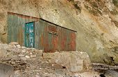 An old rusty shed