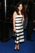 Sasha Cohen at the Los Angeles Premiere of