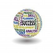 Success Words Ball