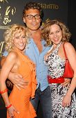 Chastity Fisher with Steven Bauer and Theresa Navarrette at the Los Angeles Runway Debut of Marceau. Boulevard3, Hollywood, CA. 03-29-07