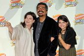 Ana Serrano with George Lopez and their daughter Pedra at Nickelodeon's 20th Annual Kids' Choice Awards. Pauley Pavillion, Westwood, CA. 03-31-07