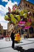 Balloon Seller In Salamanca