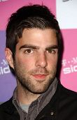 Zachary Quinto at the launch of T-Mobile Sidekick ID, T-Mobile Sidekick Lot, Hollywood, CA. 04-13-07