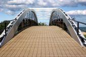 Arched Pedestrian Bridge