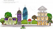 city illustration,