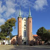 Cathedral In Oliwa