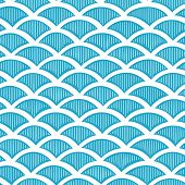 Seamless waves pattern
