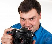 Man With A Digital Camera