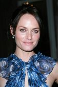 Amber Valletta at the Oscar De La Renta Boutique Opening Benefiting EIF Women's Cancer Research Fund