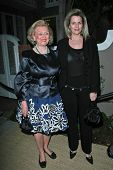 Barbara Davis and Nancy Davis at the Oscar De La Renta Boutique Opening Benefiting EIF Women's Cance