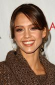 Jessica Alba at an Escada 2007 Fall Winter Sneak Preview to Benefit Step Up Women's Network. Beverly