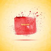 Watercolor background for your design