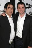 Alek Keshishian and Matthew Rhys at the screening of