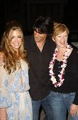 Denise Richards with Frances Fisher and friend at