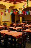 Cozy Mexican Restaurant. Oaxaca, Mexico