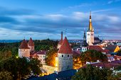 pic of olaf  - Tallinnis the capital of Estonia. Thehistorical and medieval heart of the city is the hill of Toompea covered in cobbled streets and filled with medieval houses and alleyways.
