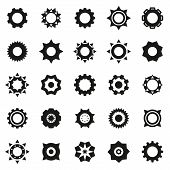 Gears Icons Set