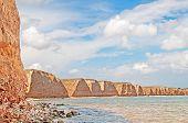 Beautiful View Resort Landscape In Tarhankut, Crimea, Ukraine