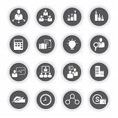 organization icons, business icons