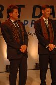 AXA CEO-Henri de Castries and AXA Asia Life CEO-Michael S. Bishop
