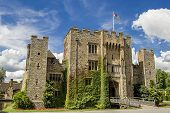 stock photo of hever  - Medieval Hever Castle in Kent - JPG