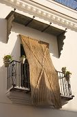 Balcony With Esparto Blind