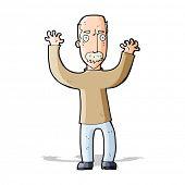 cartoon angry dad