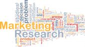 Marketing Research Background Concept